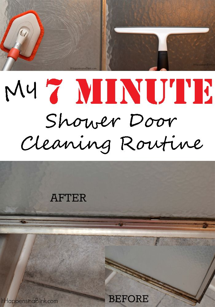 find this pin and more on spring cleaning my 7 minute shower door