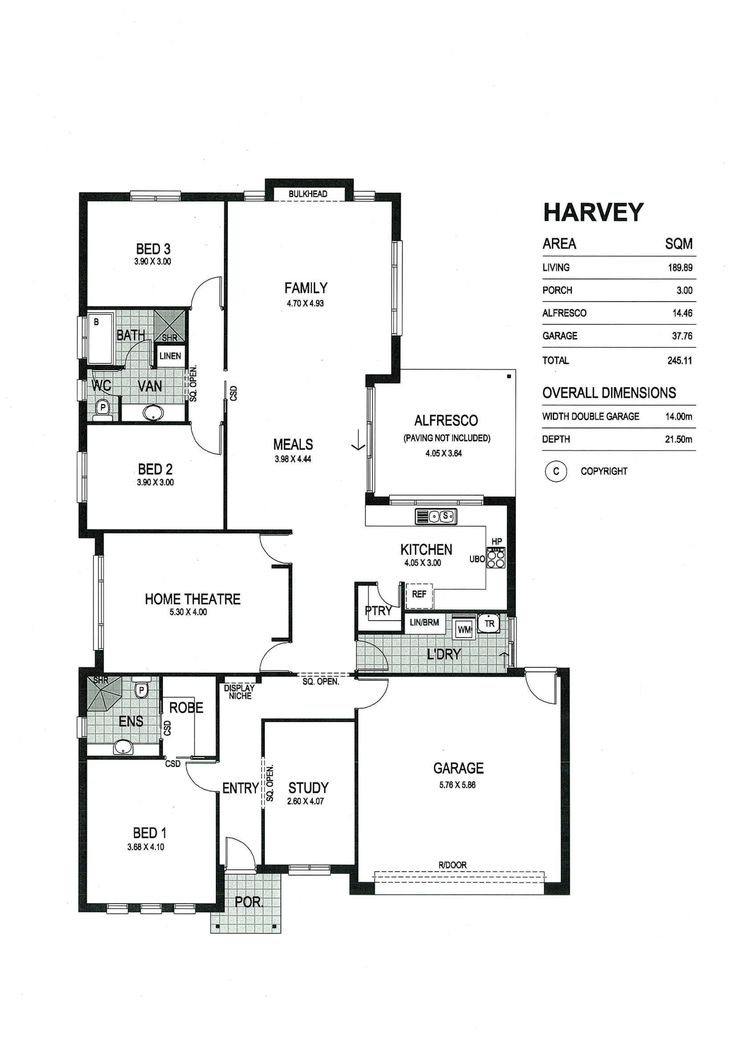 Fairmont homes floor plans adelaide home plan for Columbia flooring melbourne ar