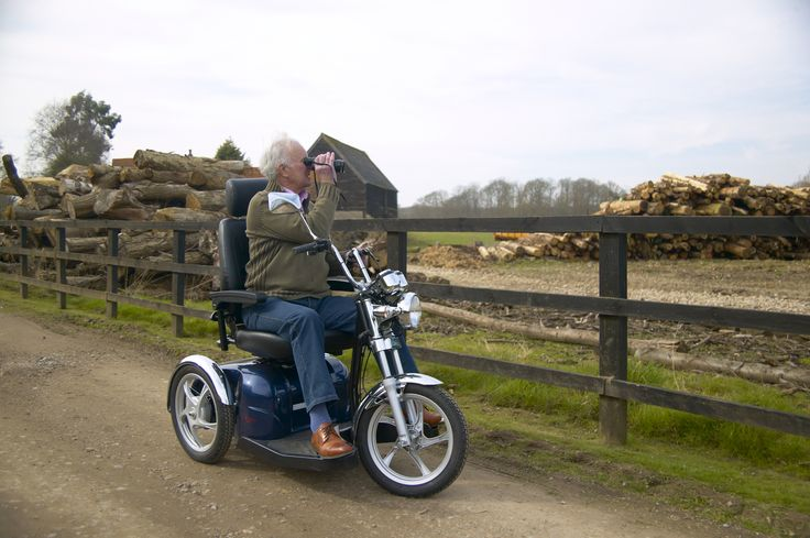 The CareCo Cruiser Mobility Scooter is great for those adventures outdoors!