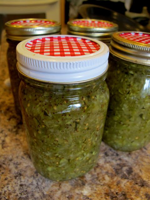 Simply YUM!: Sweet Zucchini Relish