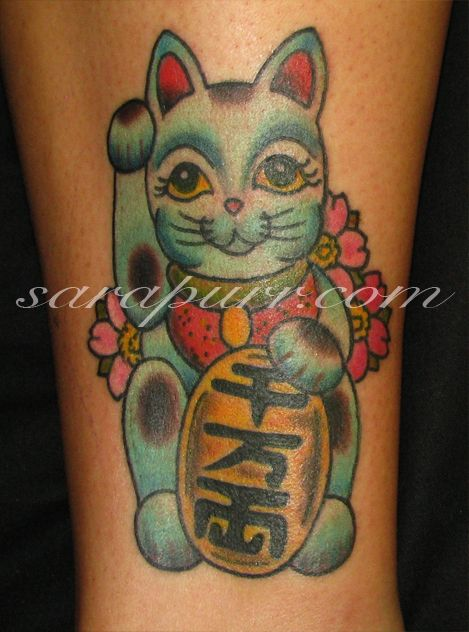 Japanese Lucky Cat Color Meaning