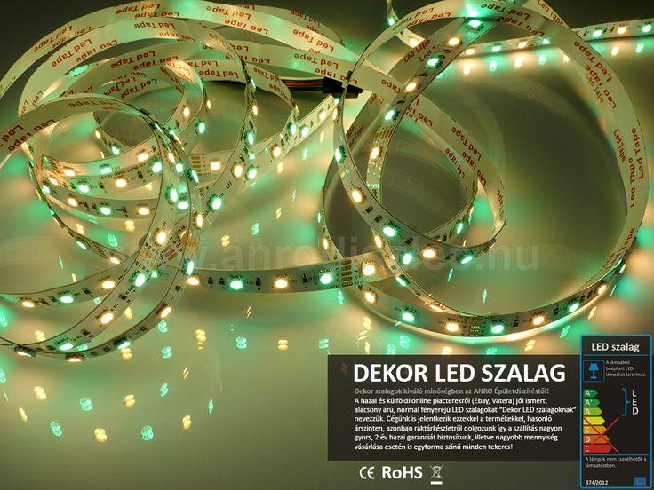 Csudaérdekes ez a színkeverés :)   A képen úgy látható, hogy egyszerre világítanak a színváltós és a fehér ledek: http://www.anrodiszlec.hu/product_info.php/products_id/11334