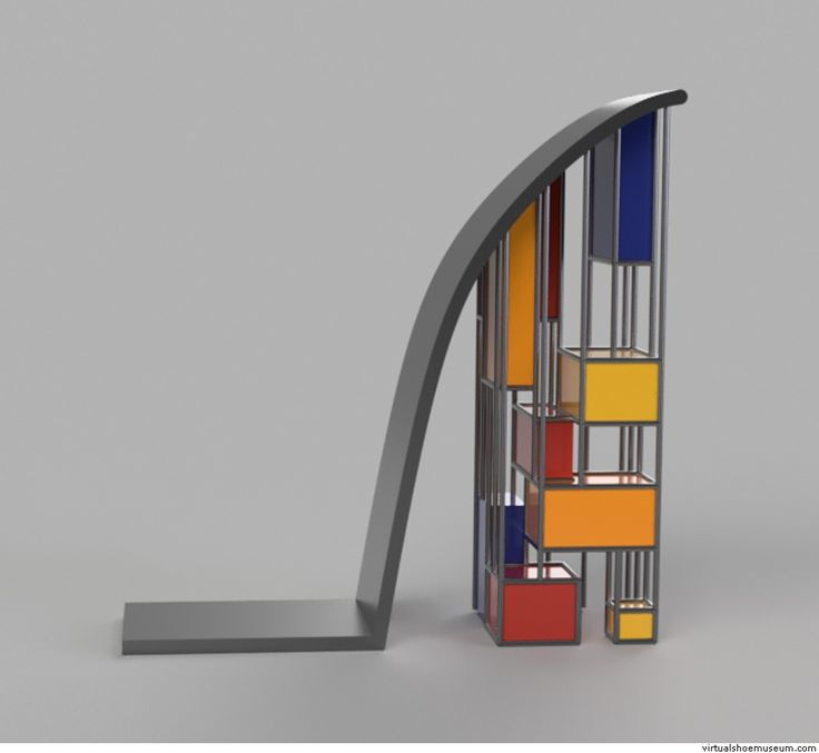 Mondrian Heel | virtualshoemuseum.com
