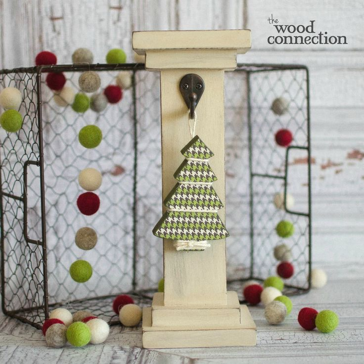 Chunky Tree | Mini Christmas Tree, Christmas Tree And Unfinished Wood Crafts