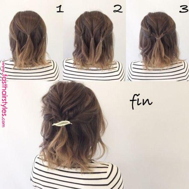 Einfache und schnelle Frisuren für den Strand, Schönheit und Natürlichkeit der Haare – Mona Man