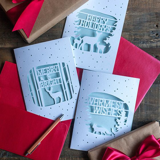 FREE SVG: Christmas week is here! For your last minute handmade Christmas cards, consider making one of these gorgeous paper cuts. They are in the same style as the winter village and woodland paper lanterns and are a keepsake that can be used as framed art or to place on the shelf for holidays to come. If... Read more.