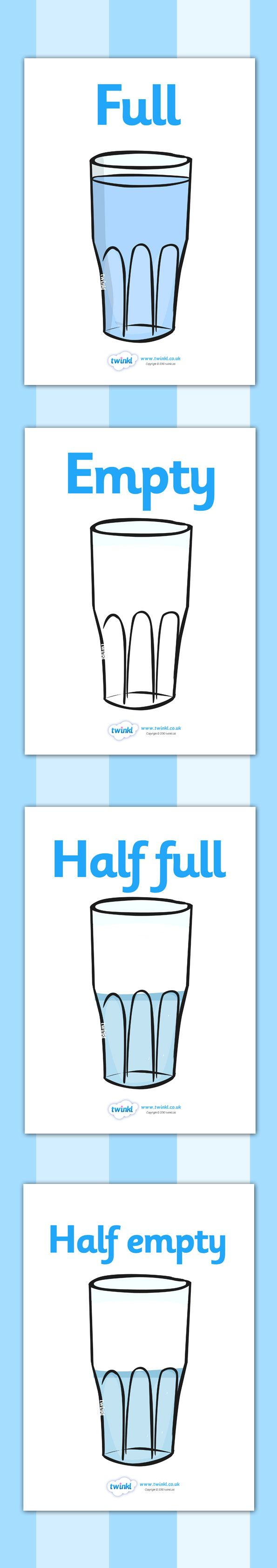 Twinkl Resources >> Capacity Display Posters (Cups)  >> Classroom printables for Pre-School, Kindergarten, Elementary School and beyond! Math, Classroom Display, Posters, Capacity