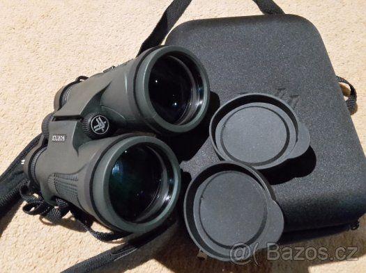 Dalekohled Vortex Diamondback 12x50 - Prodám dalekohled Diamondback 12x50, který je velmi kvalitně zpracovaný, vodotěsný, argonem plněný dalekohled se střechovými hranoly, zvětšením 12x, průměrem objektivu 50mm a zorným polem (81m/1000m). Dalekohled má výbornou světelnost a je ideální na pozorování přírody v jakémkoli počasí a díky kvalitní optice jej lze velmi dobře použít i v horších světelných podmínkách např. za soumraku. Je vhodný na myslivost, ornitologii a pro běžné pozorování přírody…
