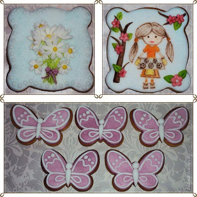 Butterflies cookies