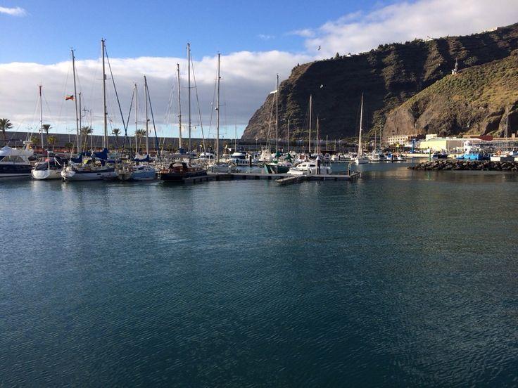 Puerto Deportivo de Tazacorte en Tazacorte, Canarias