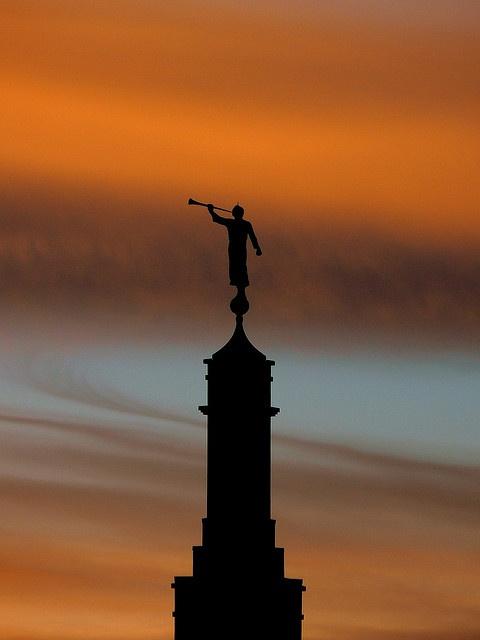Statue of the Angel Moroni