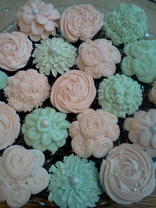 My Shabby Chic Cupcakes!                                                                                                                                                                                 More