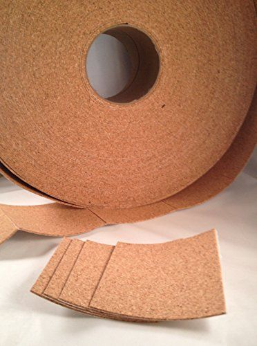 24 Self Adhesive Cork Backing for Tile Coasters Craftsman