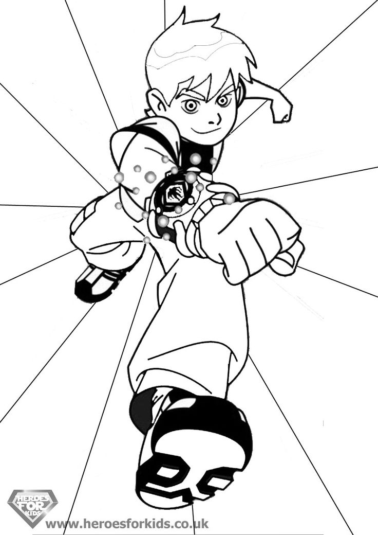 Ben 10 Omniverse Free Printable Coloring Pages Murderthestout