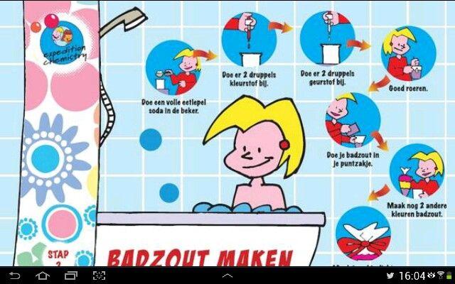Badzout maken