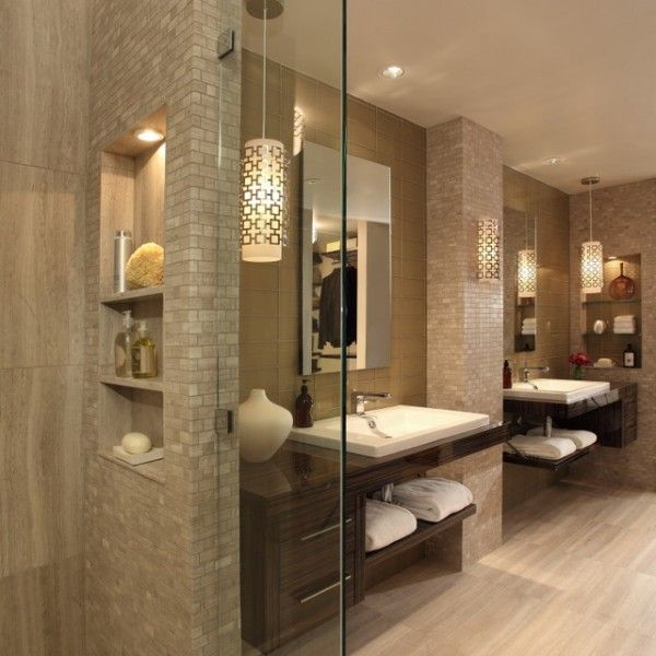 145 best Badezimmer \/ Sauna images on Pinterest Bathroom ideas - badezimmer inspirationen idea