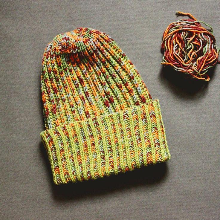 knitted hat/ вязаная шапка
