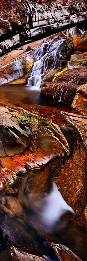 Clear Water - Pilbara Region, Western Australia -Hamersley Gorge Falls.