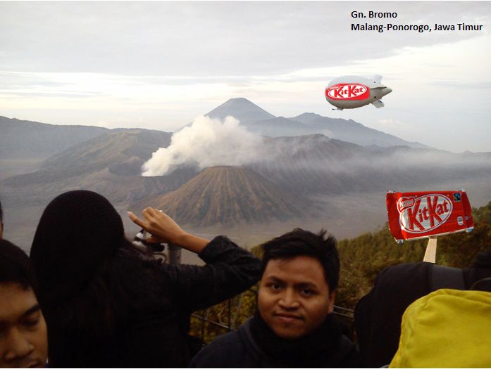 Kit kat journey at Bromo Mt. Malang - Indonesia