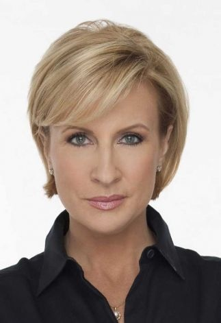 Mika Brzezinski. I start everyday with this lady! She's fabulous in every way.