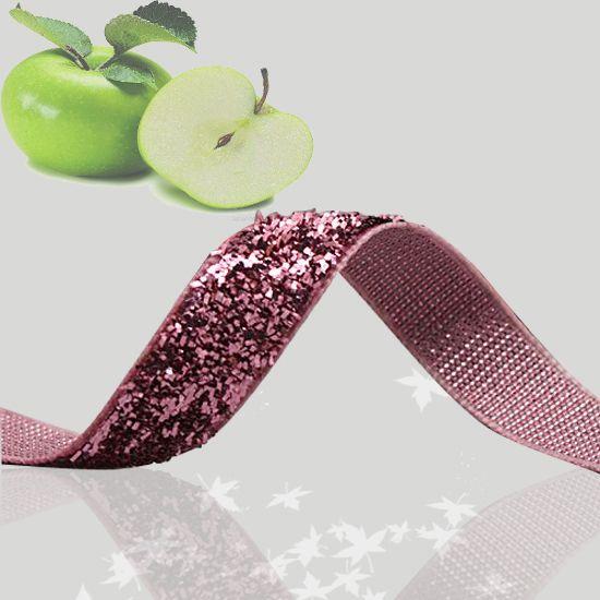 "1 1/2"" Glitter Velvet Ribbon  Baby Pink Metallic Velvet Ribbon   Sparkle Ribbon-in Webbing from Apparel & Accessories on Aliexpress.com"