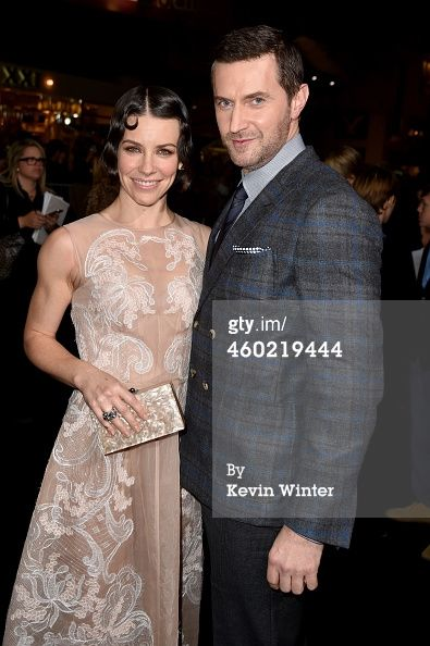 Evangeline Lilly and Richard Armitage...