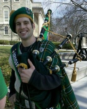 Irish piper
