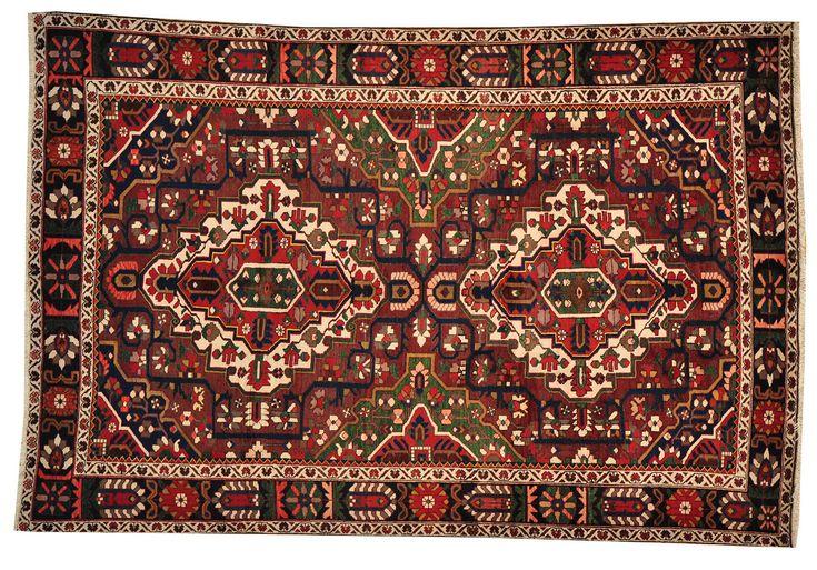 Geru Valley (10' x 7') - Hand knotted Bakhtiari rug from Afghanistan #handmade #persian #rugs #rug #handknotted #oneofakind #ooak #Bakhtiari #Iran #cotton #wool