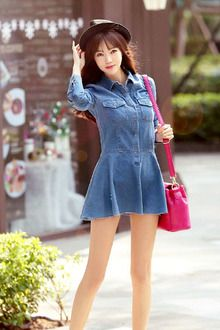 17 best images about Short skirt Denim skirt Mini skirt on ...
