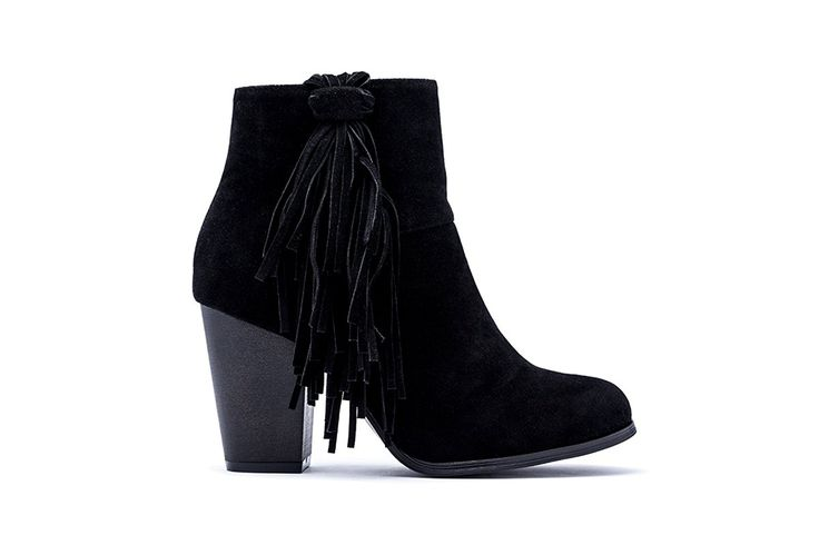 MACHI Womens Mosh-1 Suede Heeled Bootie with Fringe -- Insider's special review you can't miss. Read more  : Western boots