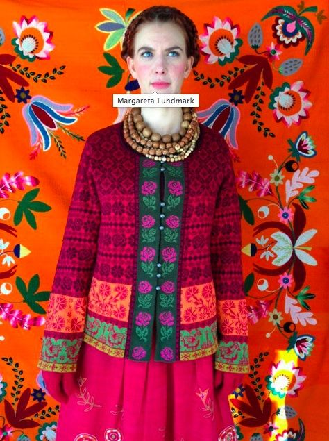 Gudrun Sjöden Winter Collection 2013 / Inspired by Muhu--and, dear God, it is beautiful!