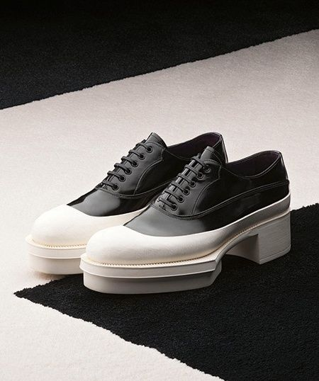 prada shoes men 11 syndrome with white patch