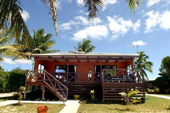 Exterior of Nikao Beach Villa, Rarotonga, Cook Islands