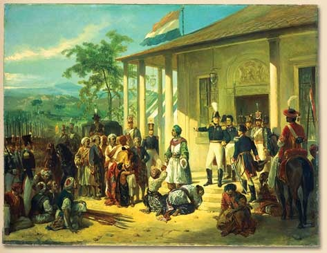 The Capture of Prince Diponegoro by Raden Saleh