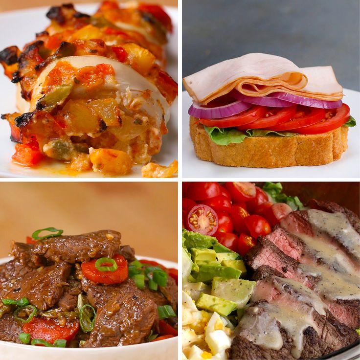 6 Keto-Friendly Meals by Tasty