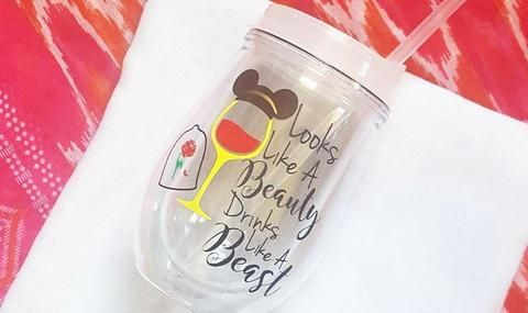 Disney Princess Belle  Food And Wine Festival Cup