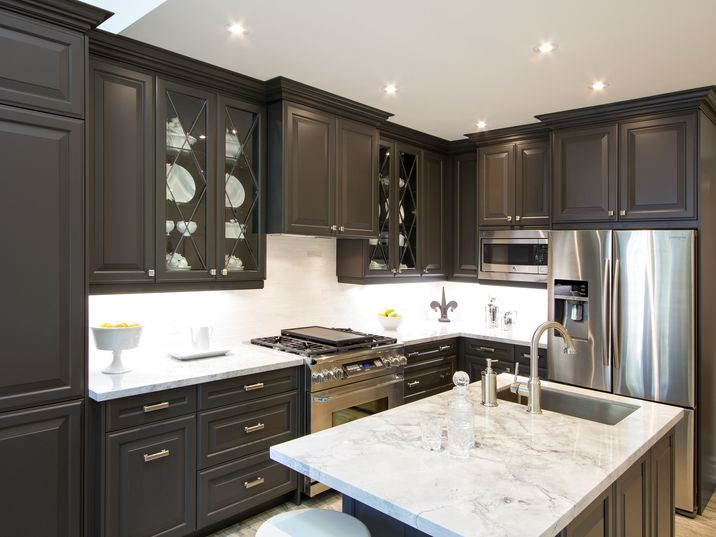 Aya Kitchens Canadian Kitchen And Bath Cabinetry Manufacturer Kitchen  Design Professionals Oxford Anthracite   Canadian Kitchen