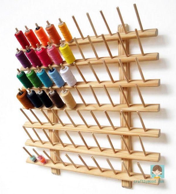 OT 1266 A.I.Y ( Assemble It Yourself ) Sewing Thread Organizer 70 | craftbymood.com