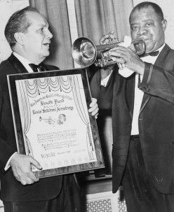 Old celebrity legends | Jazz Legends - Louis Armstrong