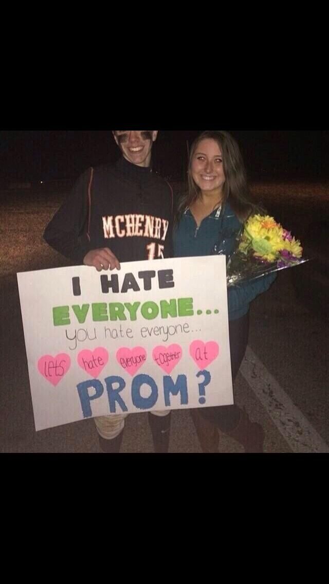 If someone asked me out like this haha I wouldn't stop laughing