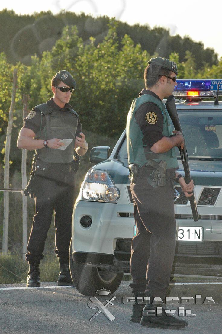 Unidades de la Guardia Civil que garantizan el orden público