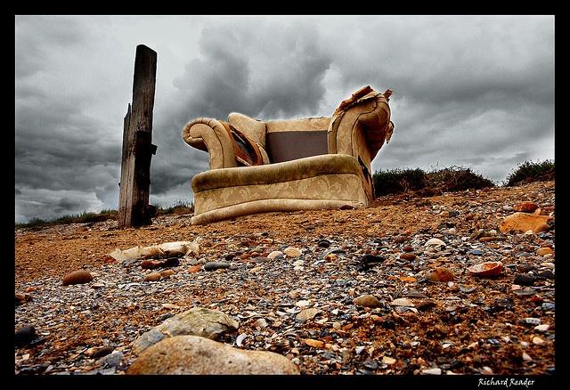 http://www.flickr.com/photos/luciferscage/770943890/  Cockleshell beach, Isle of Grain