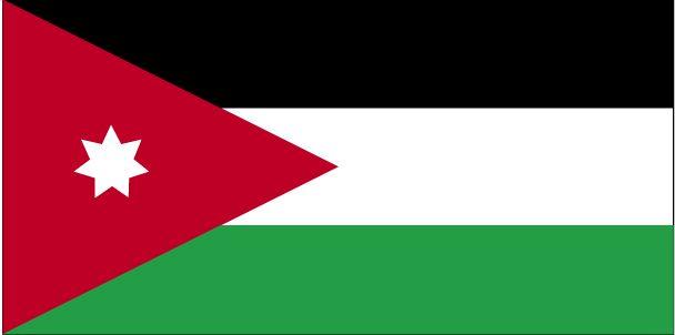 Country Flags: Jordan Flag