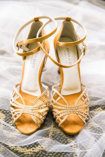 Rhinestone encrusted shoes: http://www.stylemepretty.com/little-black-book-blog/2015/02/05/whimsical-summer-wedding-at-the-golden-gate-club/ | Photography: Jasmine Lee - http://jasmineleephotography.com/