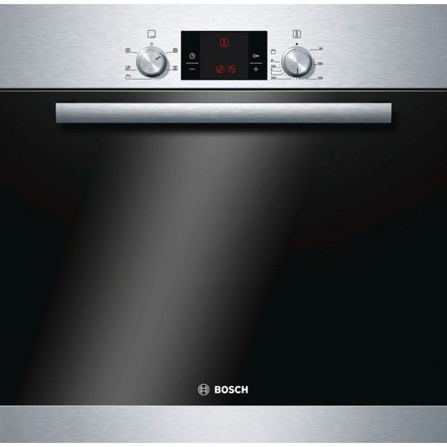 Bosch Classixx HBA13B150B Electric Convection Single Oven - Built-In - 59.5 cm - 66 litre - Brushed Steel