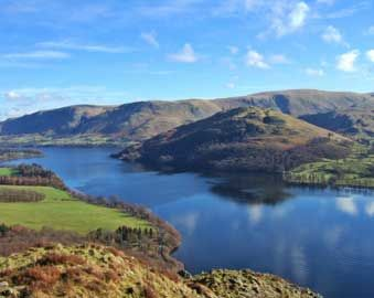 Coniston Water, Lake District, England. The view from our bedroom window next week ?
