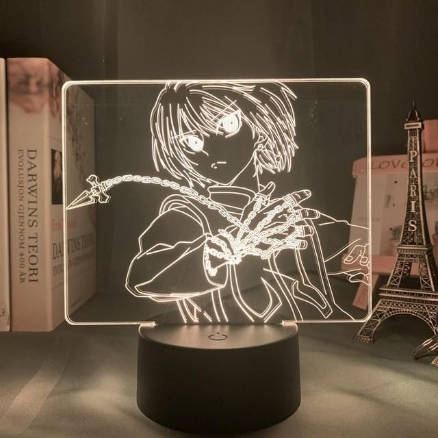 Kurapika Chains Led Anime Lamp Hunter X Hunter Otaku Lamps In 2020 Hunter X Hunter Anime Gifts Otaku Room