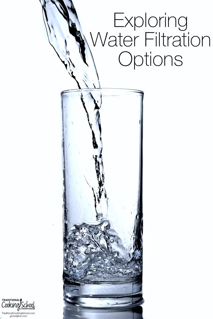 If tap water is likely full of dangerous, cancer- and birth defect-causing chemicals and bottled water is nothing more than tap water with a fancy label, what other options do we have? I'm glad you asked! Home water filtration is tricky business, and no one wants to waste their money on expensi