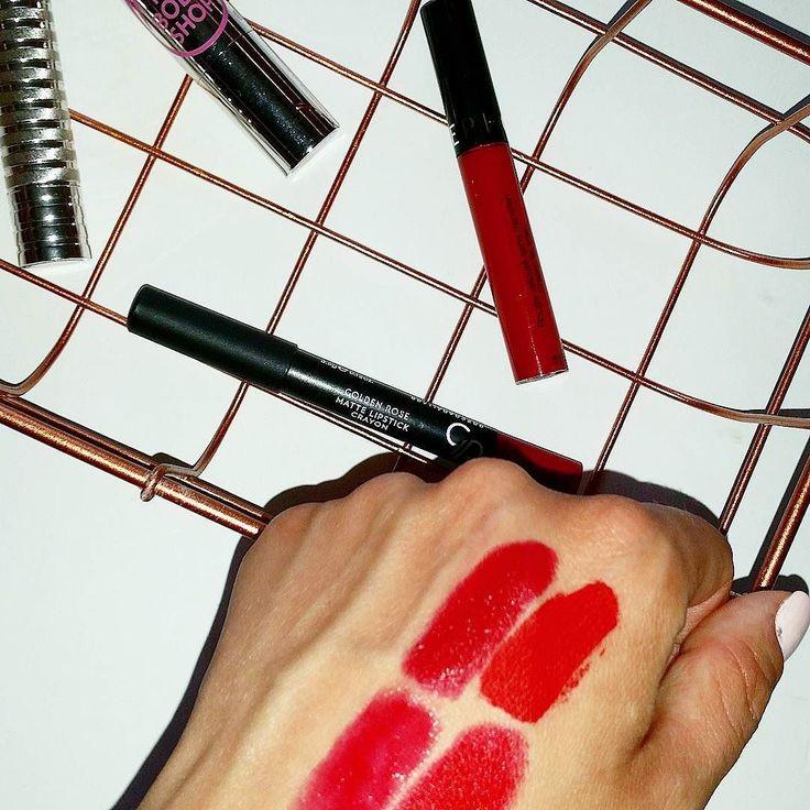 Κάποιες φορές το μόνο που χρειαζεσαι είναι κόκκινα χείλη... #redlips #passion #red #lipstick #lips #inmarysmakeup #bbloggersgr #bbloggers #instamoment #instabeauty #sephora #wherebeautybeats #lipstain #creamlipstain #thebodyshop #TheBodyShopGreece #clinique #cliniquegreece #goldenrose