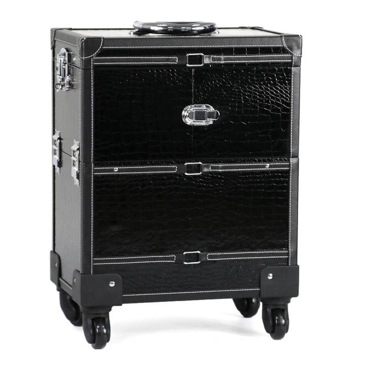 Large-Capacity Top Quality Fashion Diamond Quilted Pattern Professional Makeup Trolley Case 4 Colors